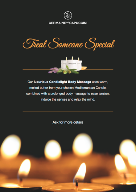 Luxurious Candlelight Body Massage Winchester